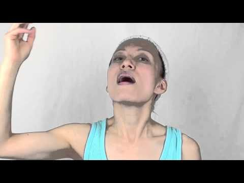 Face Yoga - 1 Facial Exercise for Nasolabial Folds, Smoke Lines and Doub...