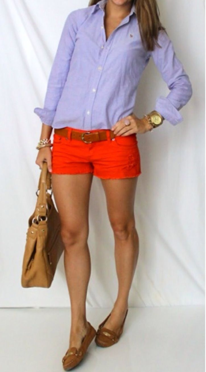 Classic oxford and shorts