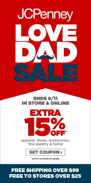 Love Dad Sale 300x600 pixel banner