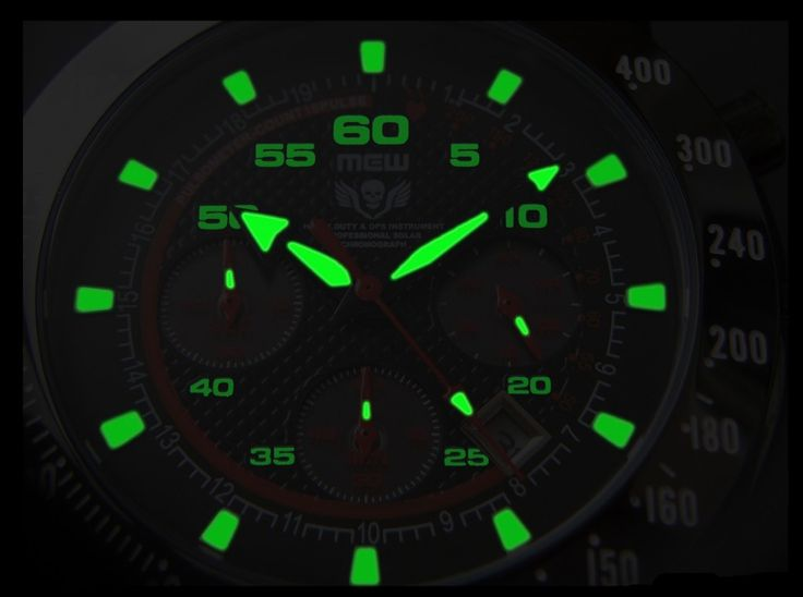 MEW 004 Solar Chronograph – Ultimate Dress-Rugged Watch – Press Release