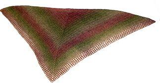 Ravelry: Easy crochet shawl/Schal i enkel virkning pattern by Virkpia - Pia Lindén
