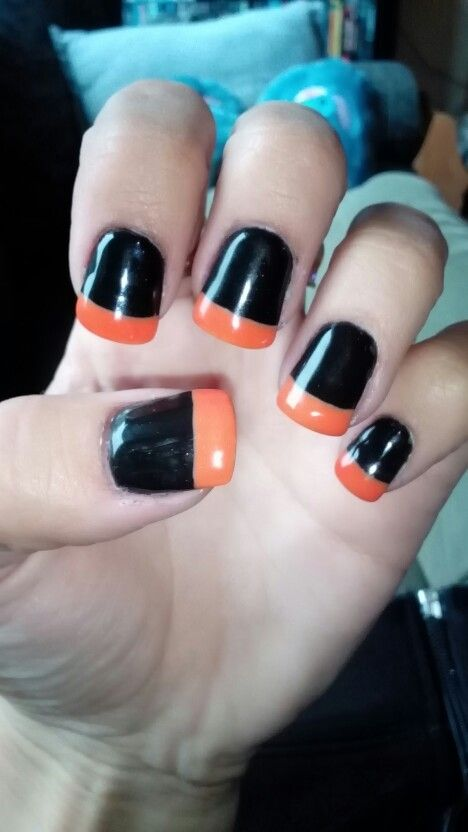 simpele Halloween nagels