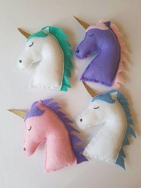 Se sentía bonito unicornio peluche por HelloLittleLife en Etsy