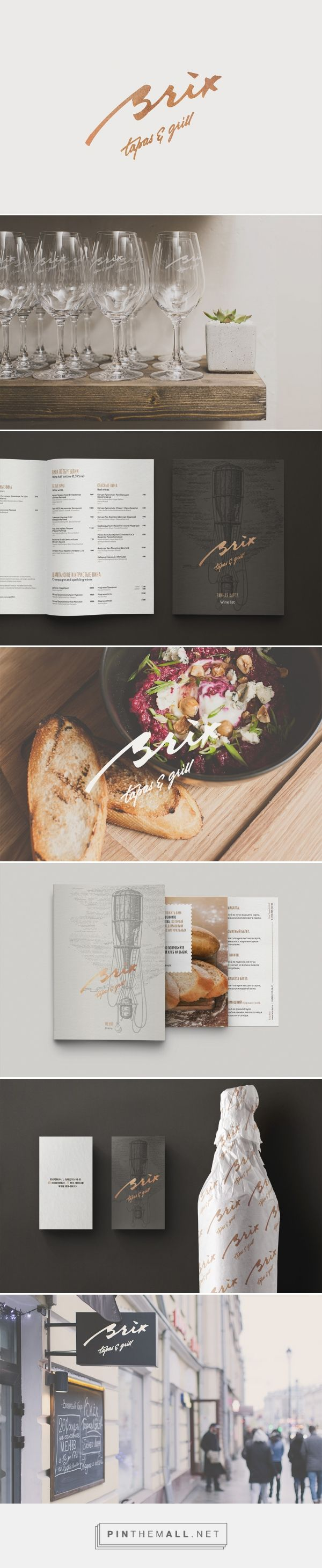 Brix Tapas Grill Branding by The Nineteen   Fivestar Branding Agency – Design and Branding Agency & Inspiration Gallery