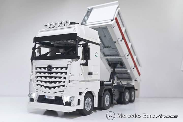 Mercedes Benz Actros Klickbricks Lego Vehicles Pinterest