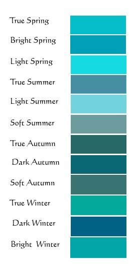 Turquoise for all seasons