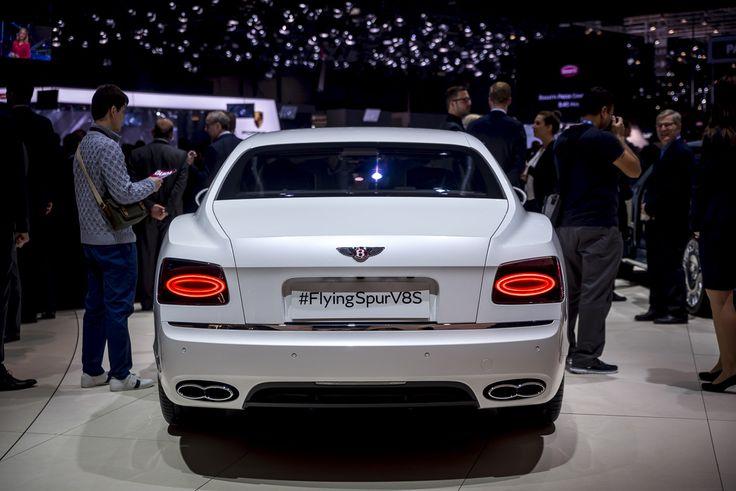 Genève 2016: Bentley Flying Spur V8 S