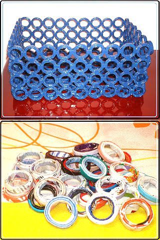 Плетение из газет: корзина из каталогов Avon | Своими руками | Плетение из газет | Постила