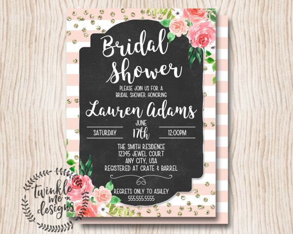 bridal shower invitation bridal shower invites rustic floral bridal shower invitation bridal shower printable wedding shower invitation