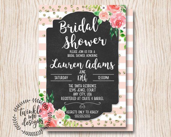 bridal shower invitation bridal shower invites rustic floral bridal shower invitation bridal shower