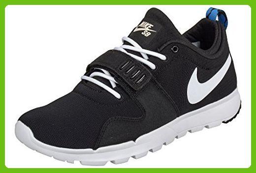 nike SB trainerendor SE mens trainers 644830 sneakers shoes (uk 9 us 10 eu 44, black white black blue 014)
