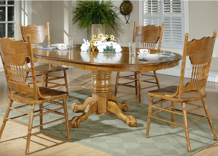Best 25 Oak Dining Room Set Ideas On Pinterest  Oak Dining Room Stunning Oak Dining Room Table Decorating Design