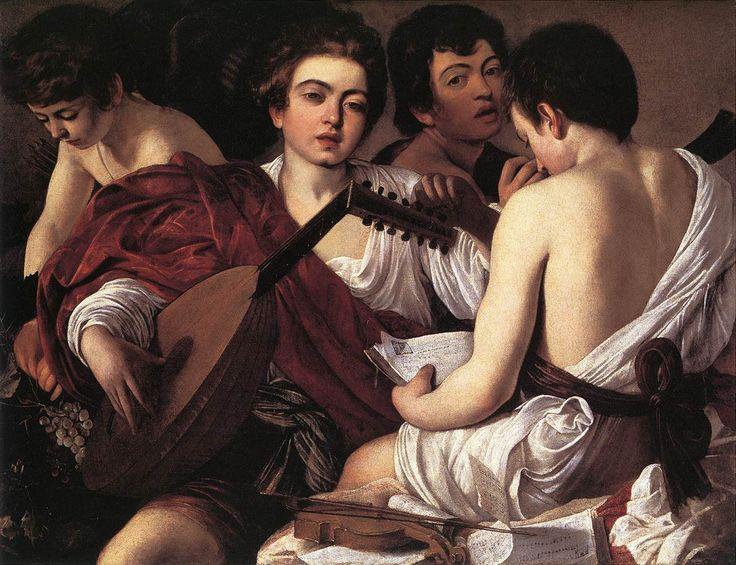 The Musicians- Caravaggio