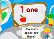 Numbers: How many apples?