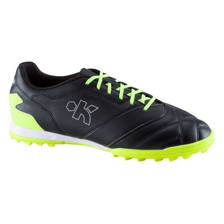 Check out our New Product  Density 300 HG adult hard ground football trainers in black and yellow Accessories Made for footballer looking for cushioning, grip and comfort when playing 11 or 5 a side on firm pitches two to three times a weekThese adult football trainers are light and comfortable thanks to cushioning provided by its sole.These trainers are supple and pleasant to wear. Its sole ensures good footing.  ₹2,529