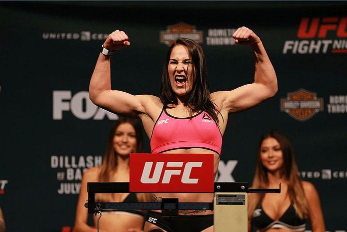 MMA Crossfire - Jessica Eye meets Juliana Pena at UFC 192