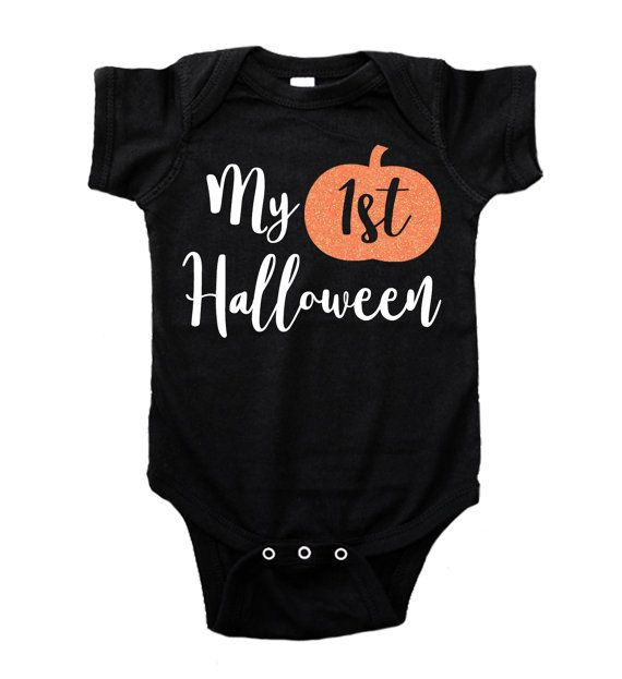 My First Halloween Bodysuit or Tee Baby's by LovelyforLittles