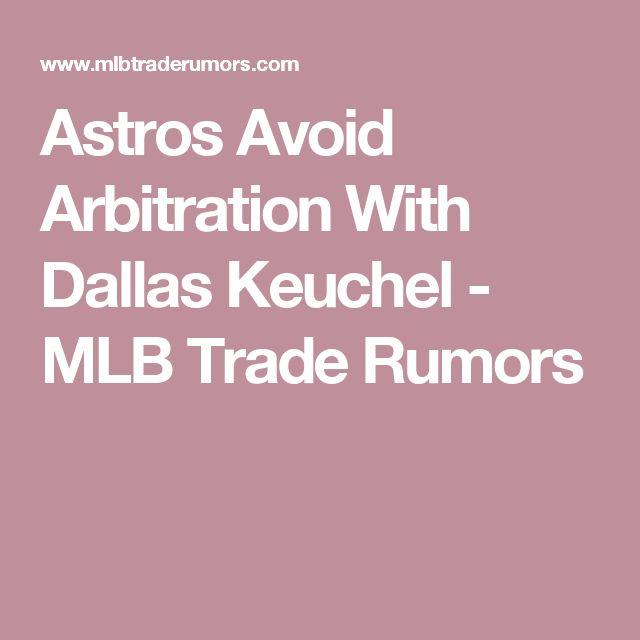 Astros Avoid Arbitration With Dallas Keuchel - MLB Trade Rumors