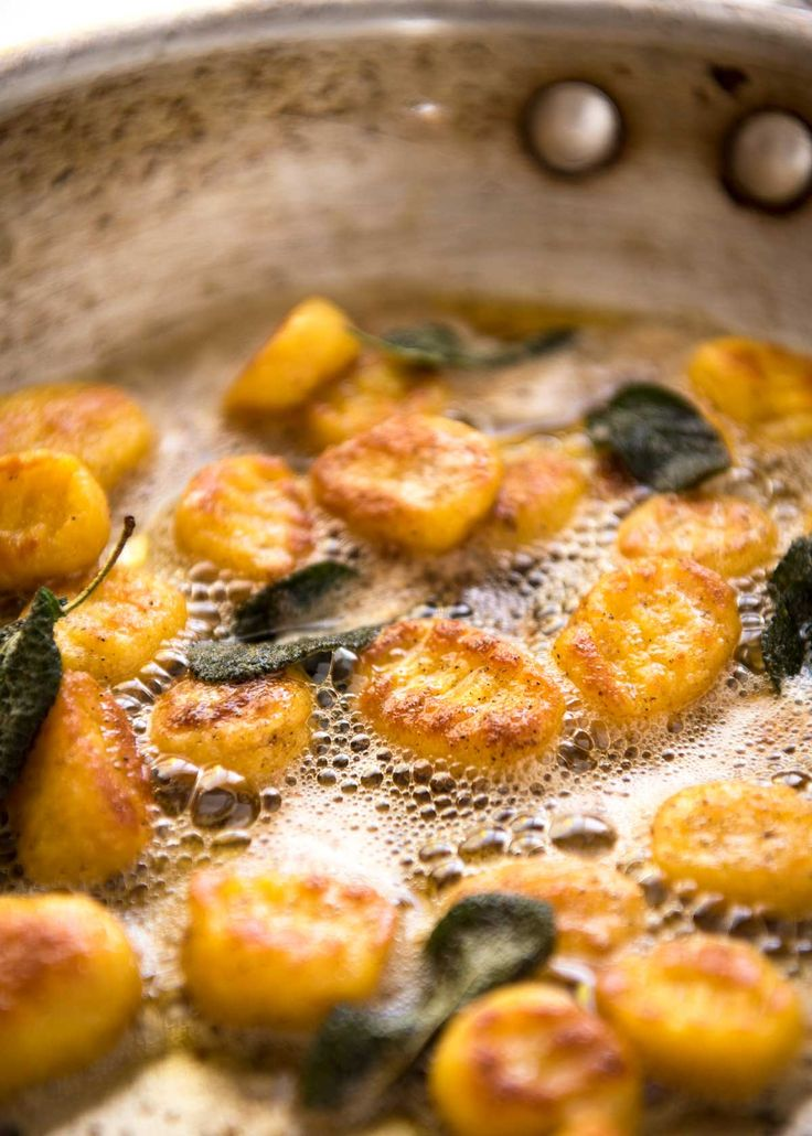 This Pumpkin Gnocchi is soft and pillowy on the inside, golden on the outside, and it is unbelievably simple to make. The secret is ricotta!