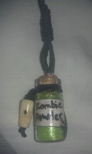 Free Stuff: Voodoo Zombie Powder~ Rearview Mirror Charm - Listia.com Auctions for Free Stuff