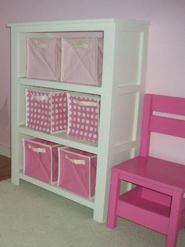 Free DIY~Build a Cubby Bookshelf- Free and Easy DIY Project and Furniture Plans