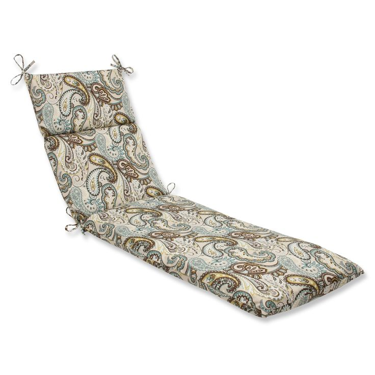 Tamara Paisley Quartz Chaise Lounge Cushion