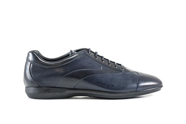 Sneakers blu #franceschetti #franceschettishoes #madeinitaly #madeinmarche