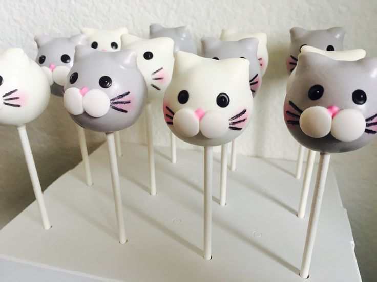 Easy Animal Cake Pops