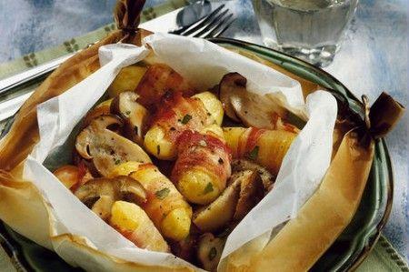 Rotolini di patate e speck, antipasto facile e sfizioso