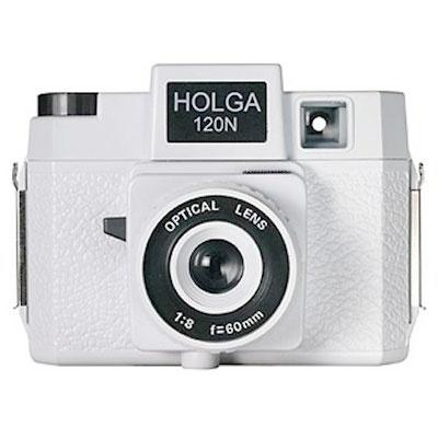 Holga 120N White Camera