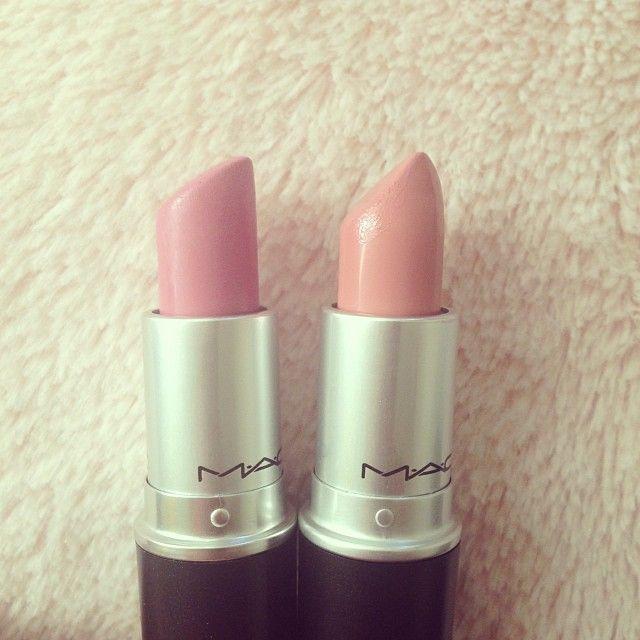 My favorites at the moment: snob & creme cup #maccosmetics #lipstick