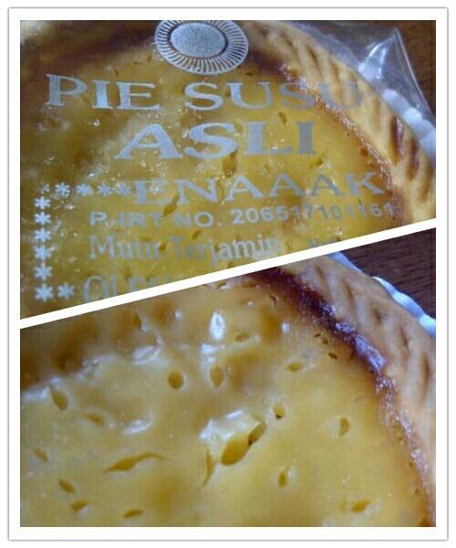 Pie Susu from Bali, Indonesia
