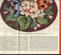 "Gallery.ru / Фото #3 - буклет""Blumenmuster auf Stramin"" - allaN"