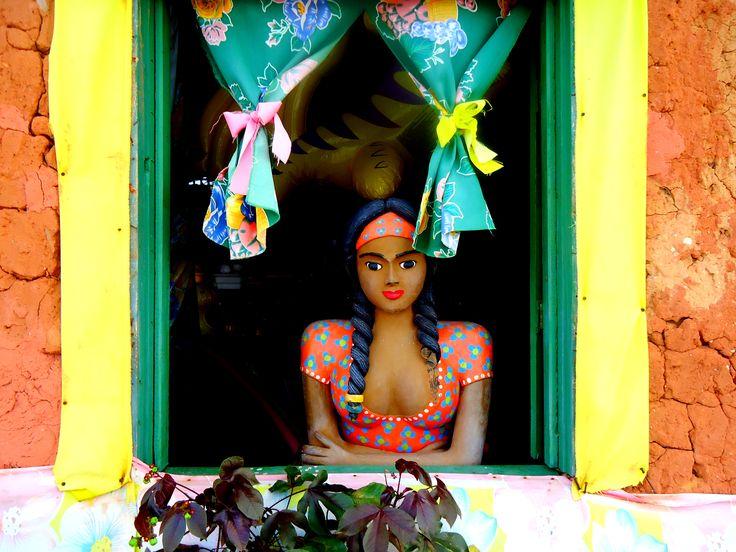 As cores do Brasil.