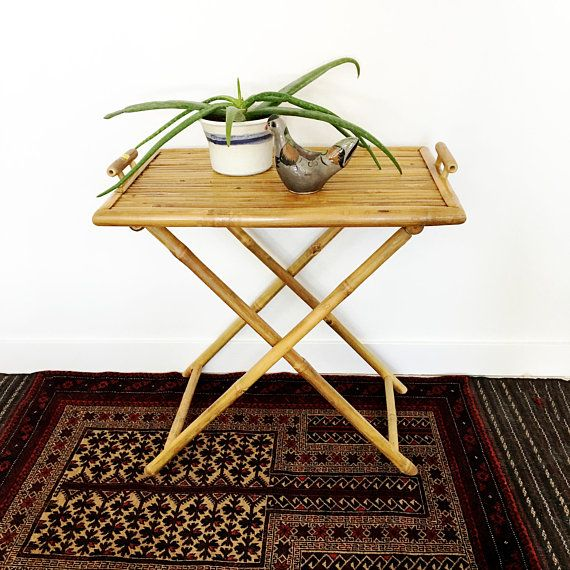 Vintage Bamboo Tray Table Wood Tray Butler S Tray Bamboo Furniture Tray Table Wood Tray