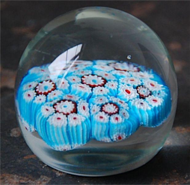 Boule de sulfure presse papier murano verre souffl - Boule de noel verre souffle ...