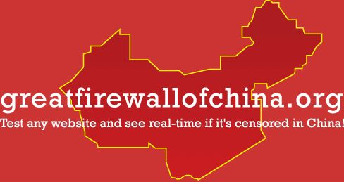 Great Firewall of China - test: is your site blocked in China?