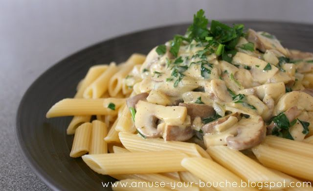online jewellery design Pasta in a creamy mushroom and white wine sauce  Amuse Your Bouche Increased the proportions and modified this w sliced chicken breast quartered artichoke hearts frozen chopped spinach rinsed amp squeezed dry  amp parmesan Seriously yummy It   s a keeper
