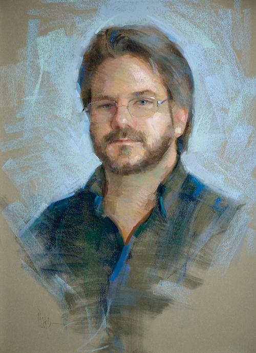 greg | pastel portraits, Greg (pastel) by Alain J. Picard