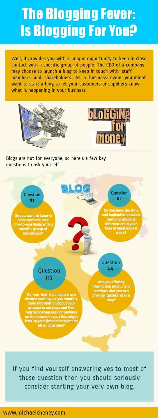 The #Blogging Fever: Is Blogging for You?