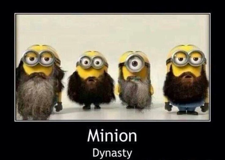 Minion Duck Dynasty this is perfect!!!!!