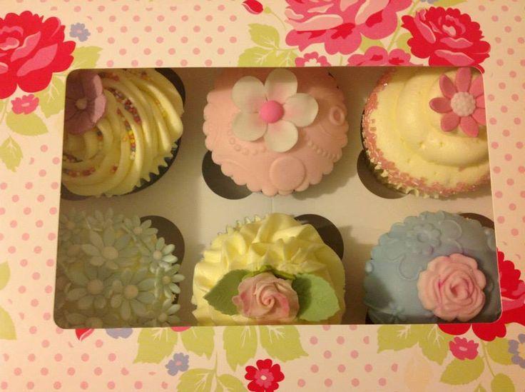 Flower Box Cupcakes