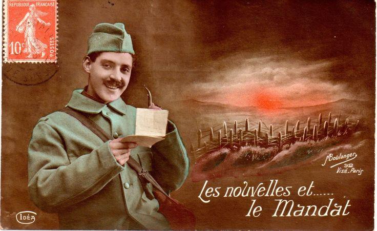 cartes postales : la Grande Guerre