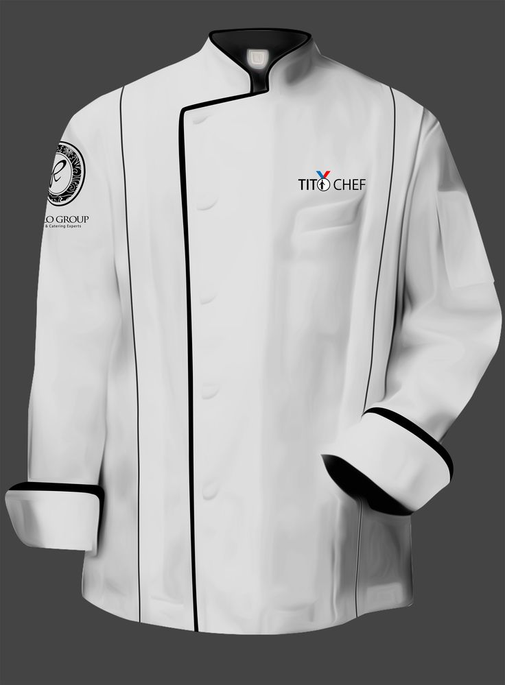 Tito Chef Jacket- White