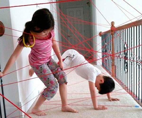 25 ideas baratas y originales para que los niños jueguen