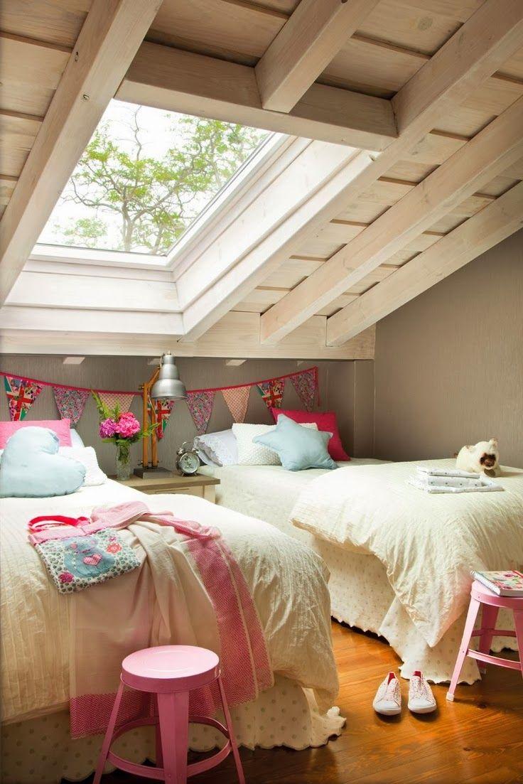 Índios e Cowboys: Ideias de decoração para quartos de criança partilhados.