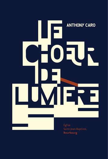 Typographic poster by Kouglof, Strassbourg