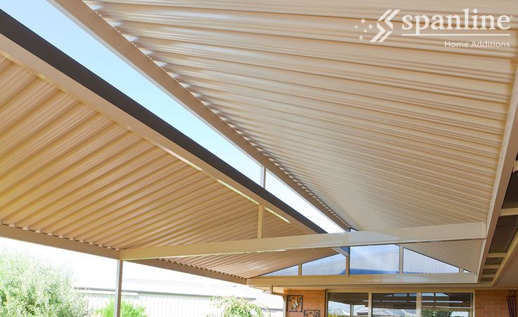 Style options range from flat roofing to gable and skillion and you can choose insulated panels for noise and heat/cold reduction, Spanlites® for allowing low UV light and opening roofs for versatility in a range of weather.