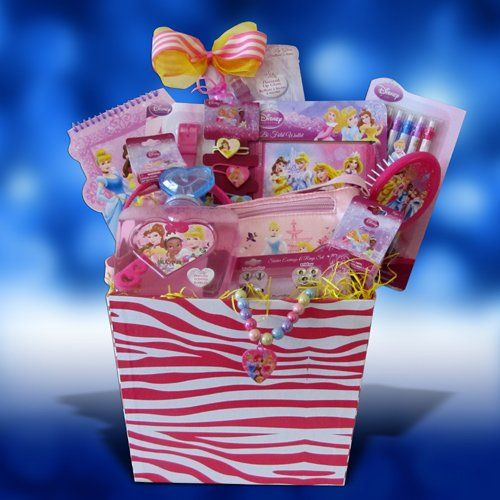 28 best wrap tup gift hampers images on pinterest christmas gift disney princess accessory gift basket perfect birthday get well gift baskets for girls under 10 negle Images