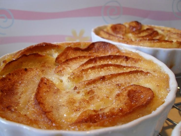 Petits clafoutis pommes-cannelle